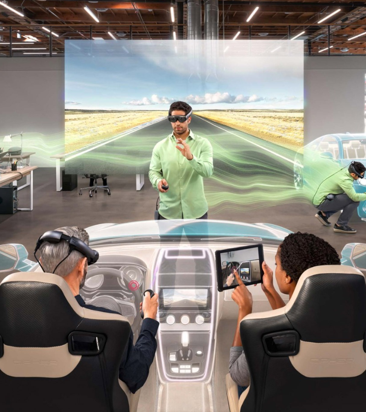 We create innovative simulations, AR/VR apps and games.